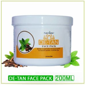 Pure Vedas De-Tan Face Pack
