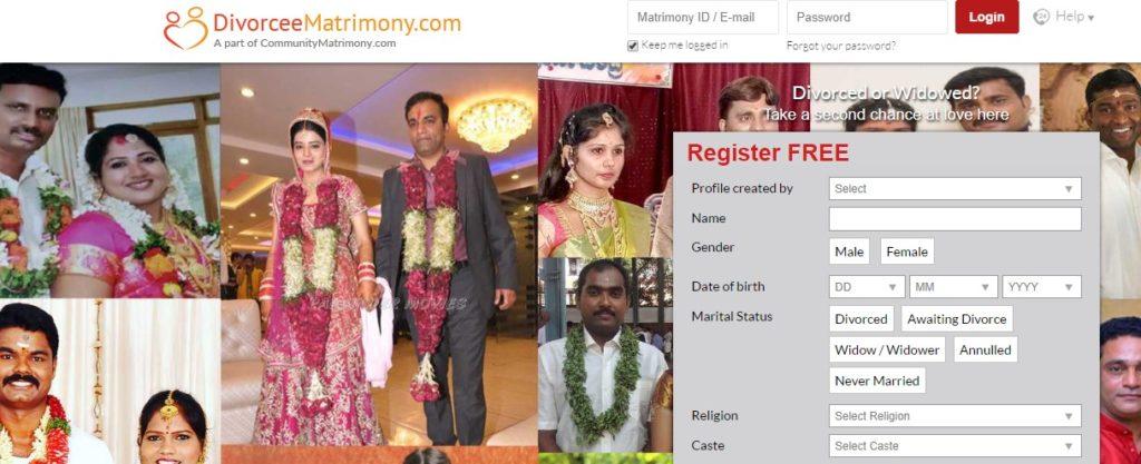 Divorcee Matrimony