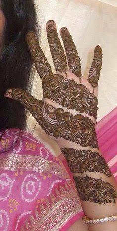 Front hand Mehndi Design 27