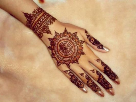 beautiful Kangan Mehndi Designs