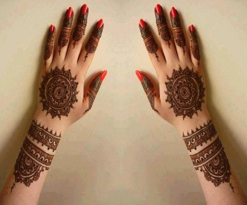 Kangan Mehndi Designs beautiful