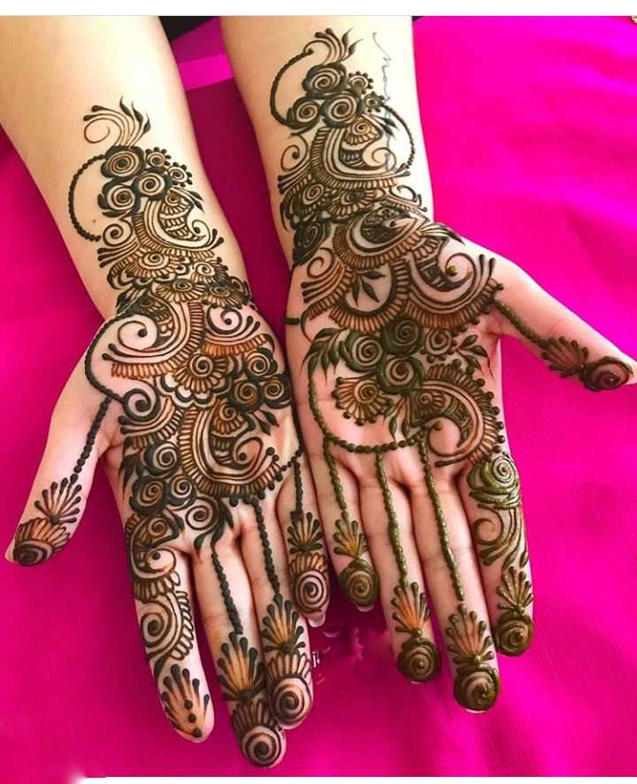 Palms Kangan Mehndi Designs