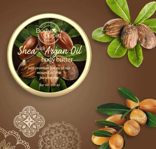 Shea with Argan Oil Body Butter