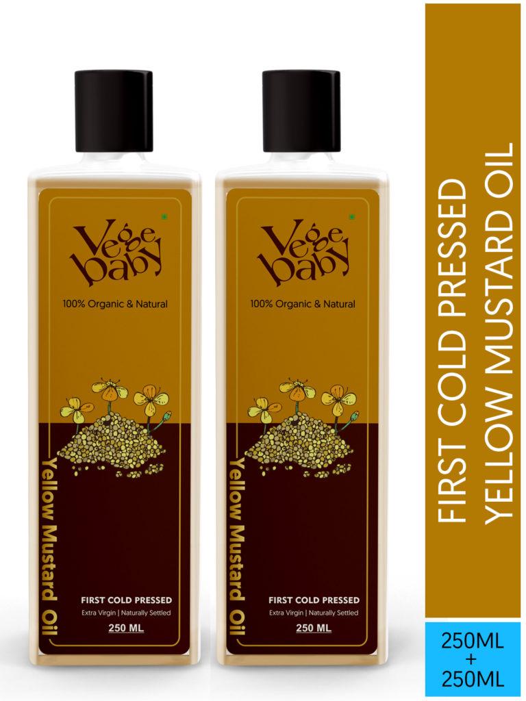 Vegebaby Extra Virgin Yellow Mustard Oil