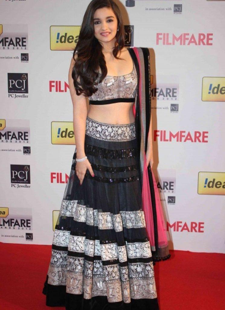 Alia Bhatt Filmfare Look