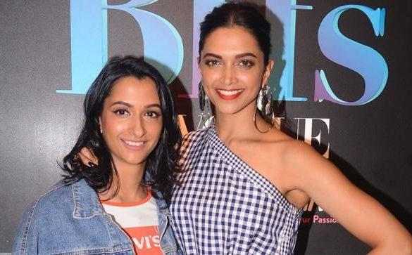 Anisha Padukone and Deepika Padukone