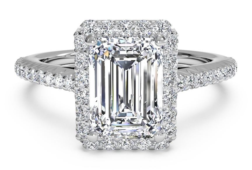 Asscher Shape Ring