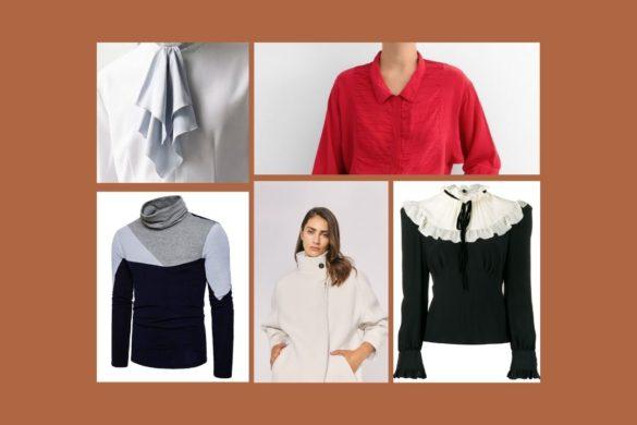 types of collar designs