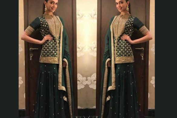 deepika padukone green suits