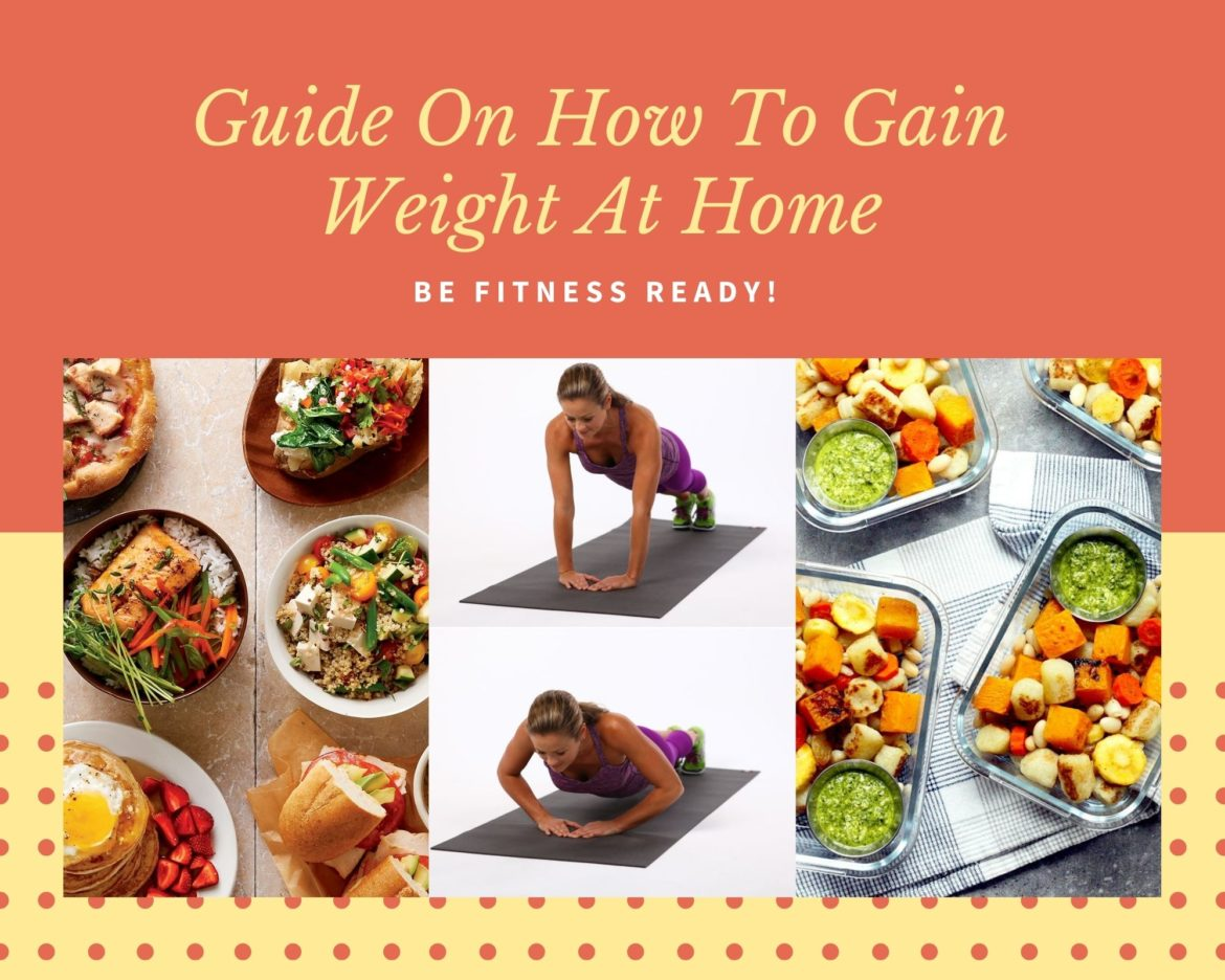 how to gain weight at home