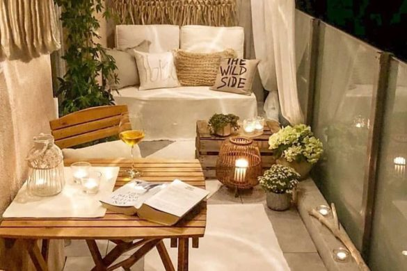 DIY Cozy Small Balcony Design Ideas