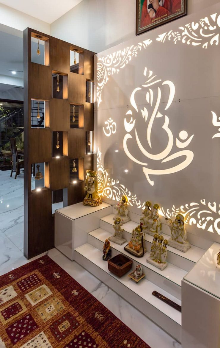 Wall Mandir Designs For Home