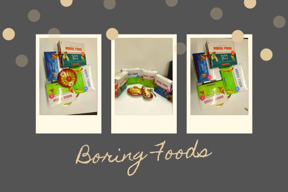 boring foods