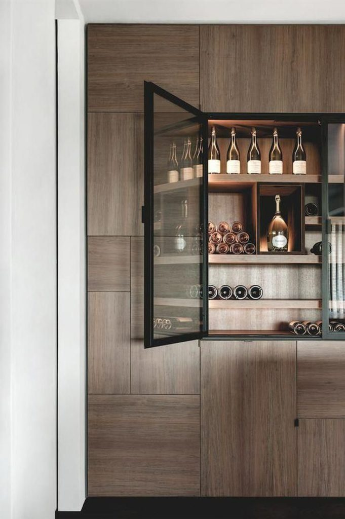cabinet bar design for home