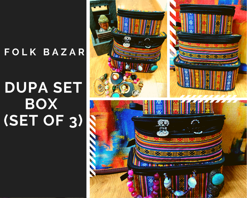 folk bazar review dupa set box