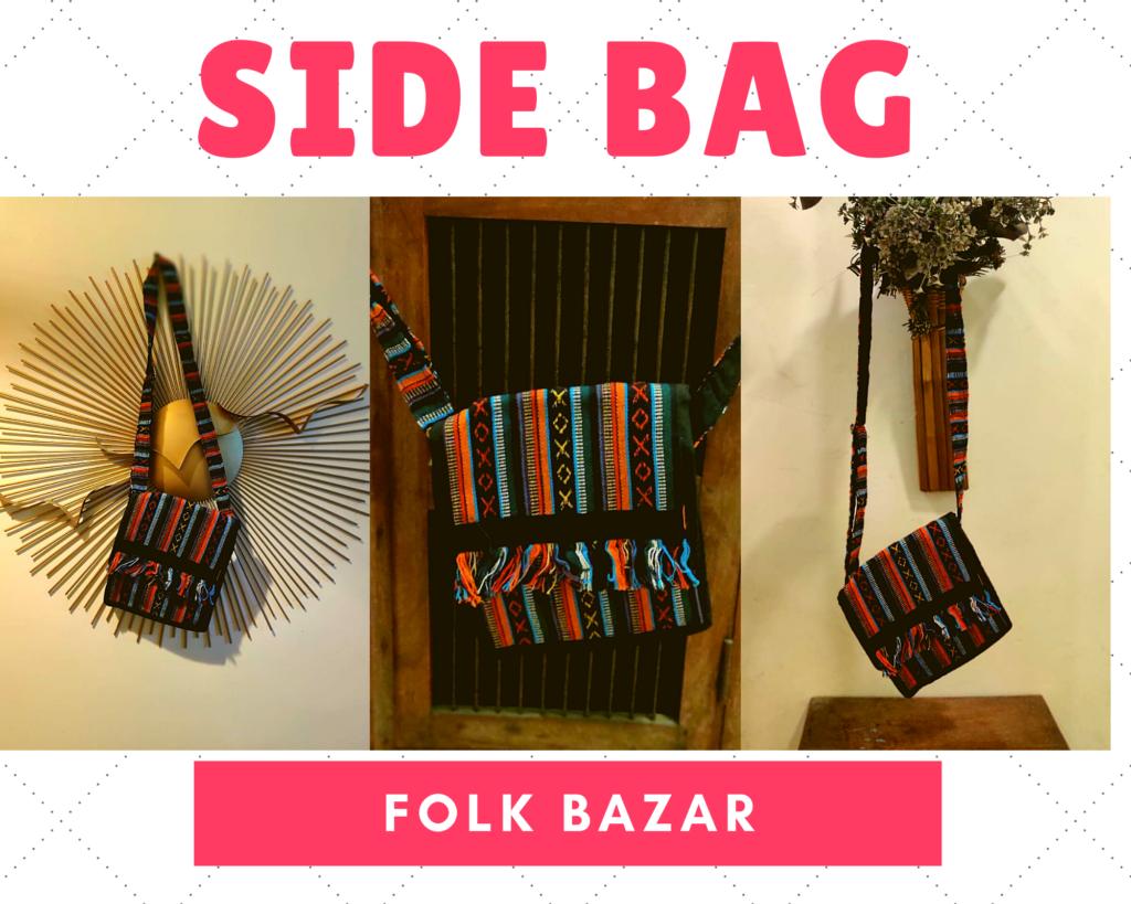 folk bazar review side bag
