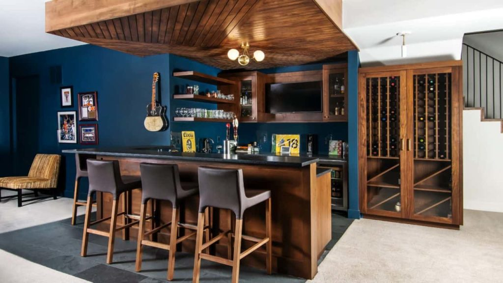modern bar design for home