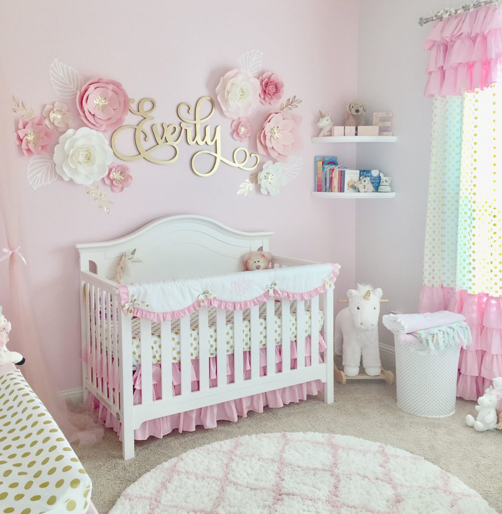 pink room decoration ideas for newborn baby