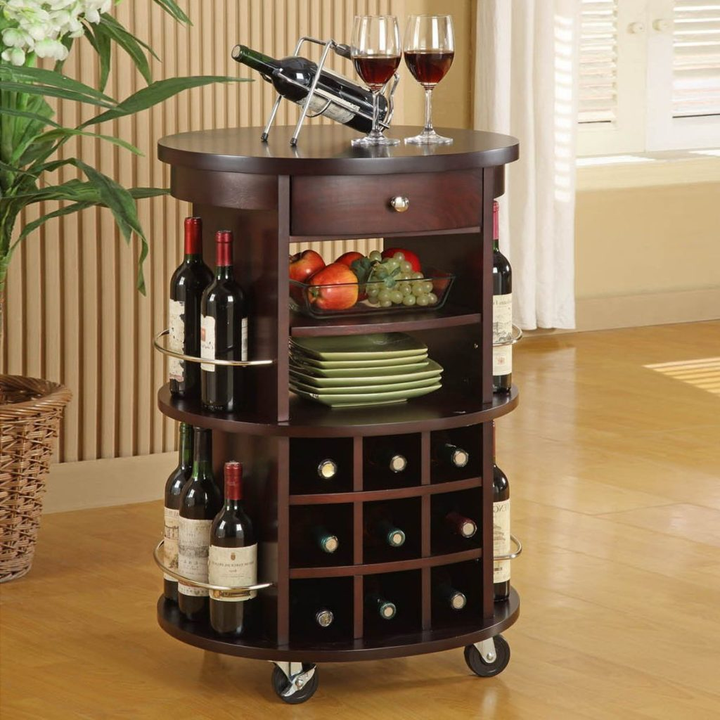 trolley bar design for home