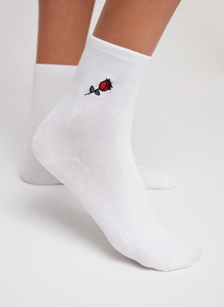 high ankle sock sizes