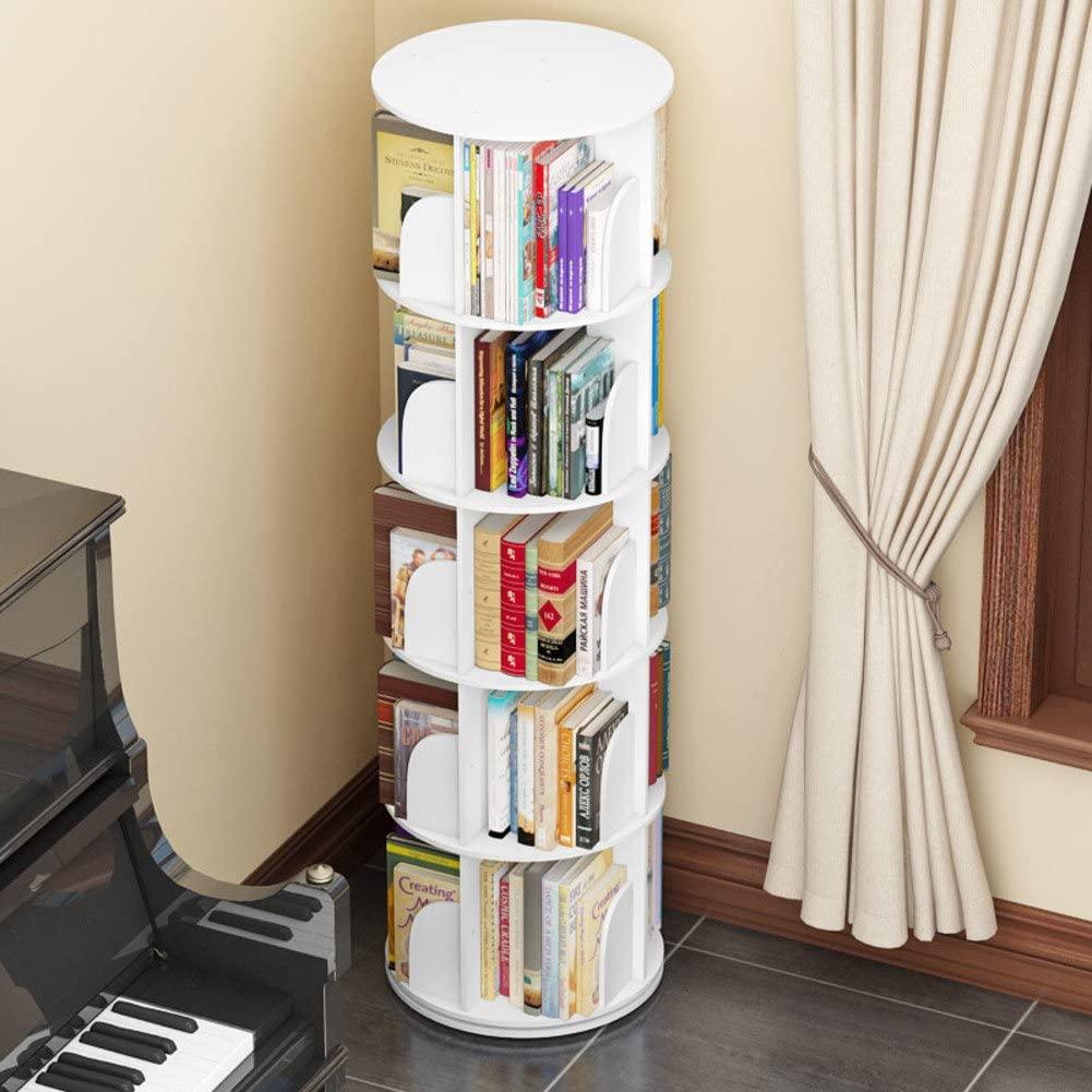 swivel modern book rack design