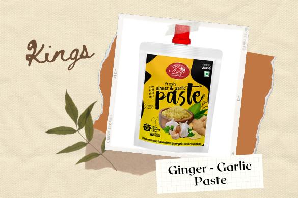 kings ginger garlic paste