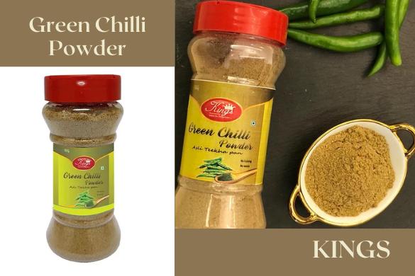 kings green chilli powder