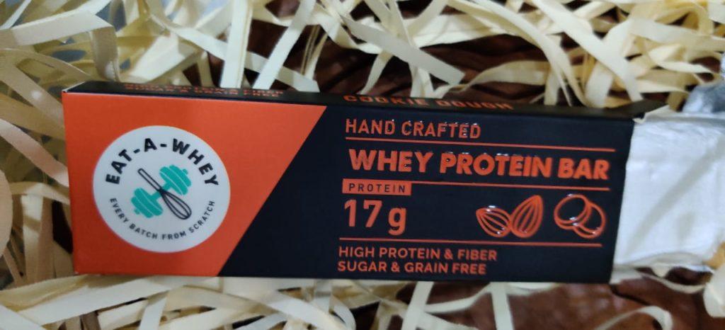 whey protein bar
