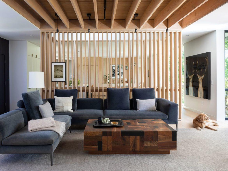 wooden railings