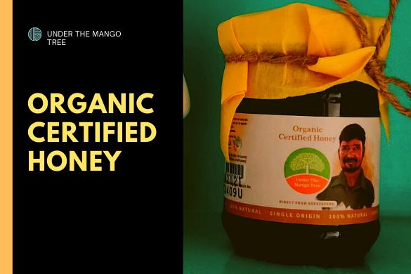 organic certified honey