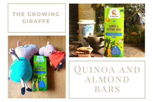 quinoa and almond bars
