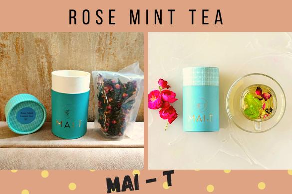 rose mint tea