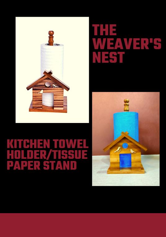 kitchen towel holder tissue paper stand
