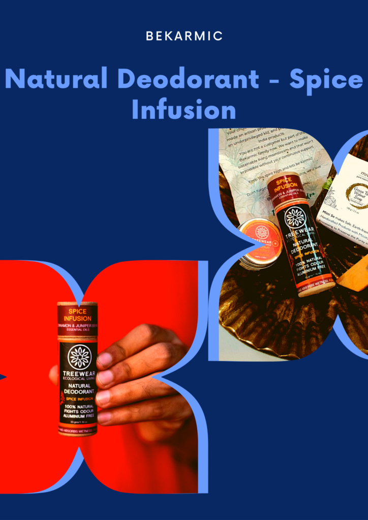 natural deodorant spice infusion