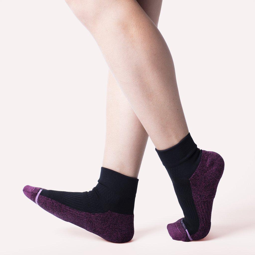 quarter length socks