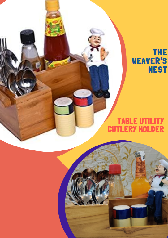 table utility cutlery holder