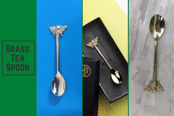 brass tea spoon