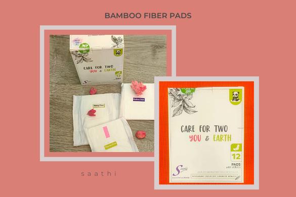 saathi bamboo fiber pads