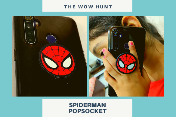 spiderman pop socket