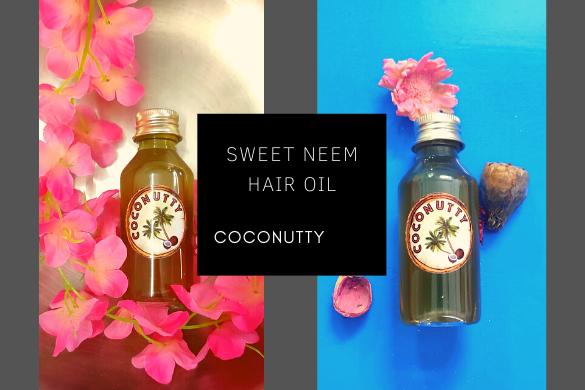 sweet neem hair oil